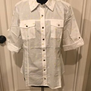 Tops - Christopher and Banks woman's M blouse